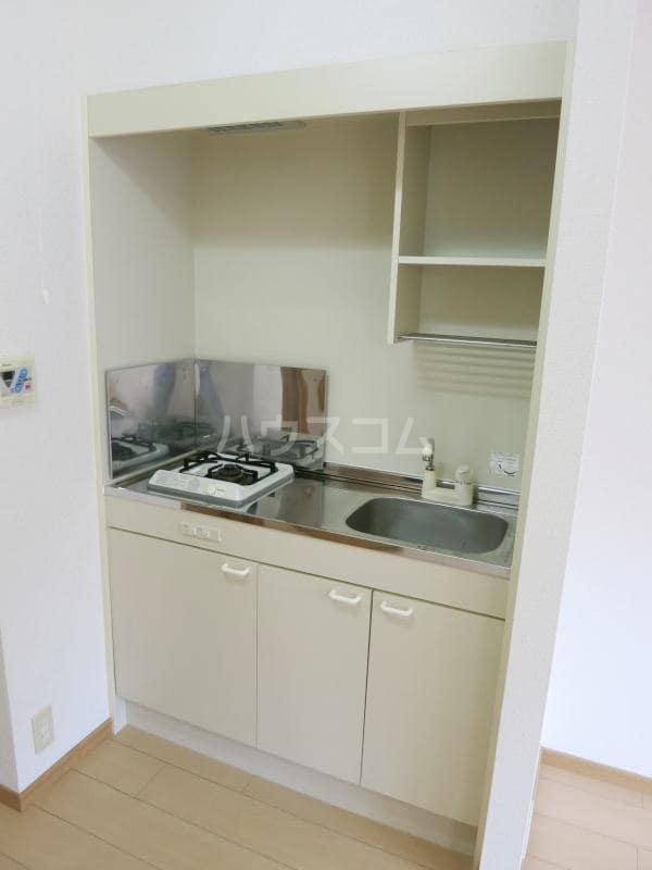 アネックス・ヒル39 02040号室のキッチン