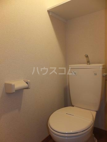 レオパレスLuce 208号室のトイレ