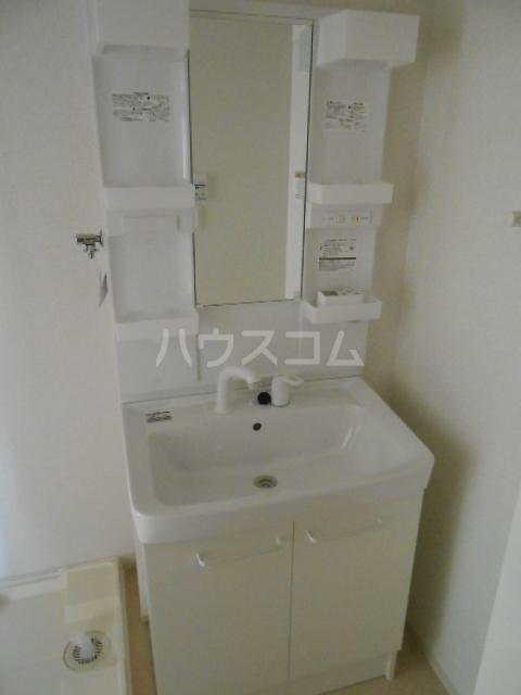 ウッドリバー 01010号室の洗面所