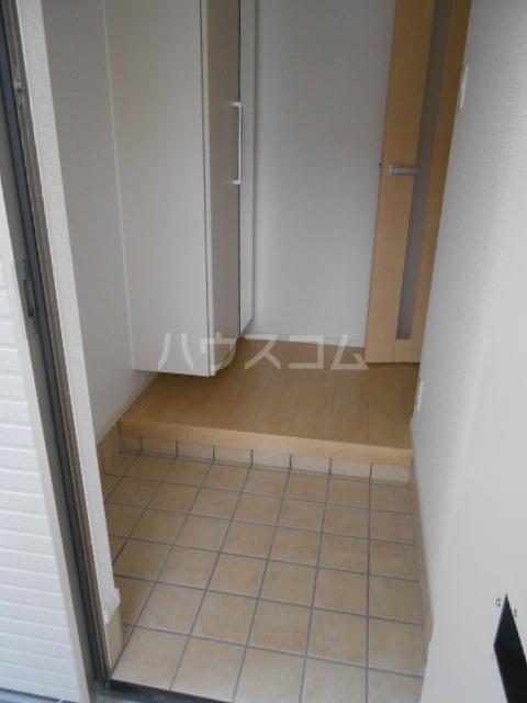 ウッドリバー 01010号室の玄関