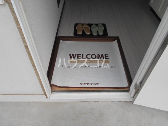 ハイツゆう 204号室の玄関