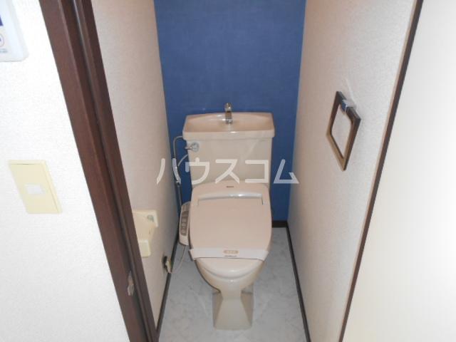 ハイツゆう 204号室のトイレ