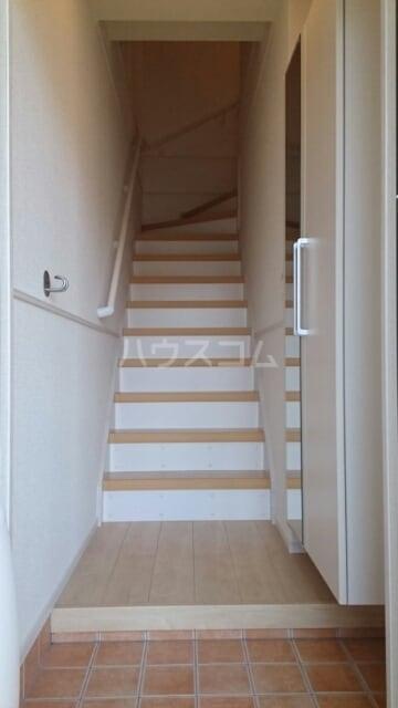 ローズセレッソ B 02020号室の玄関
