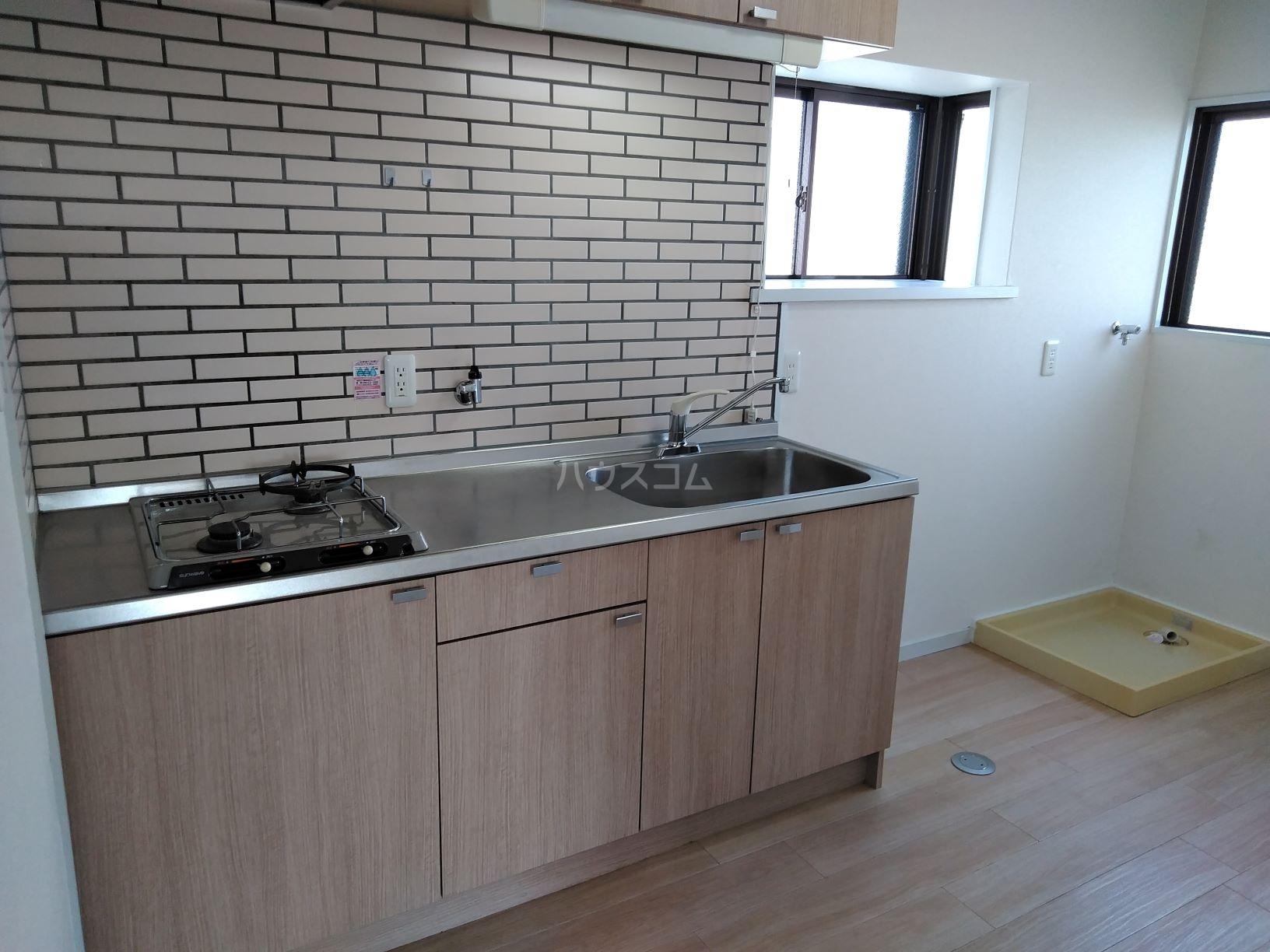 デュエル50 505号室のキッチン