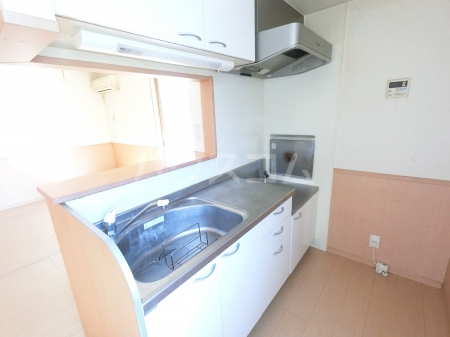 ウィル・ボナール A 102号室のキッチン