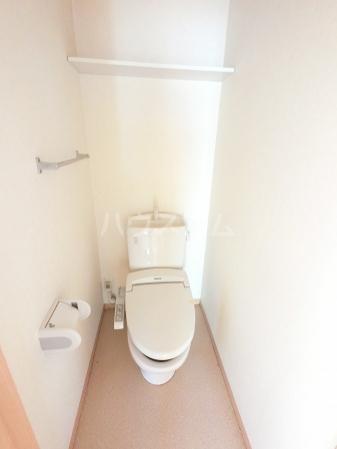 ウィル・ボナール A 102号室のトイレ