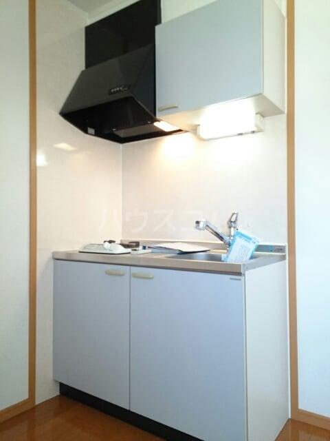 ラ・プラージュⅢ 02010号室のキッチン