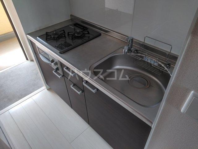 ロイヤルヒルズR 205号室のキッチン