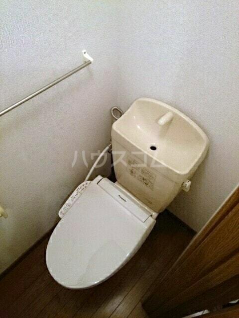 シャルマンタツミA 01010号室のトイレ