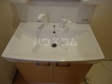 ロコタウン 102号室の洗面所