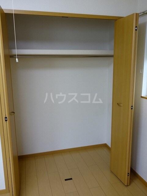 ミストラルB 02040号室の収納
