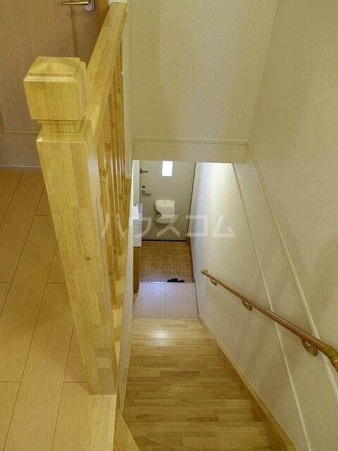 ミストラルB 02040号室の玄関