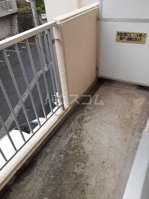 セゾンドカサハラⅠ 207号室のバルコニー