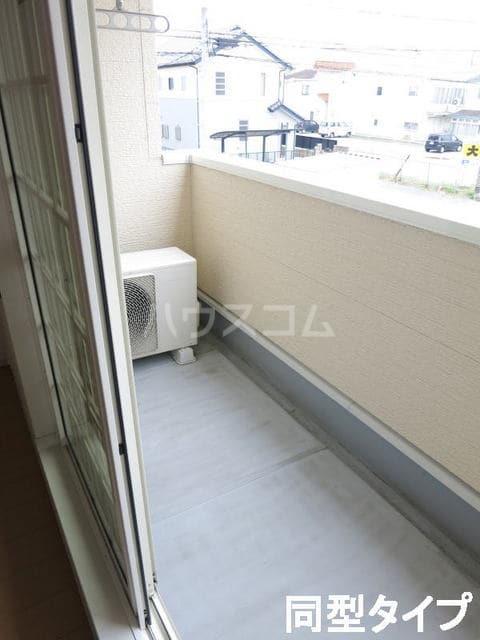 カサ・インペリアル 02010号室のバルコニー