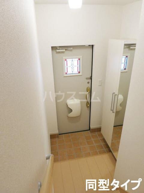 カサ・インペリアル 02010号室の玄関