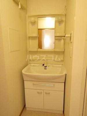 ジュネス幸 B 02050号室の洗面所