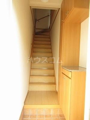ジュネス幸 B 02050号室の玄関