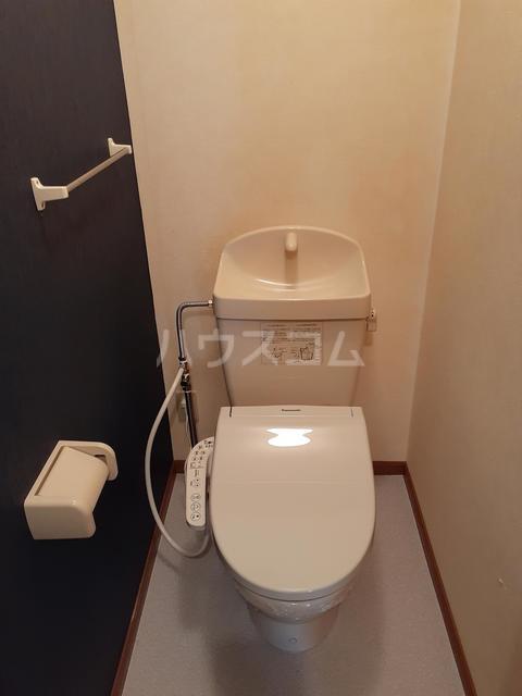 シャルマンタツミA 02030号室のトイレ