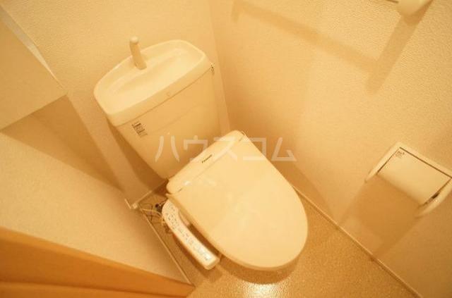 Belle Rosa 01040号室のトイレ