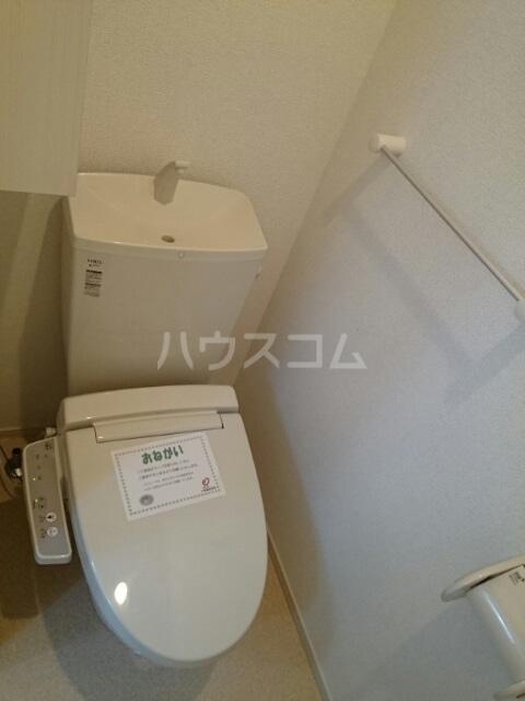 クレストⅠ 01020号室のトイレ