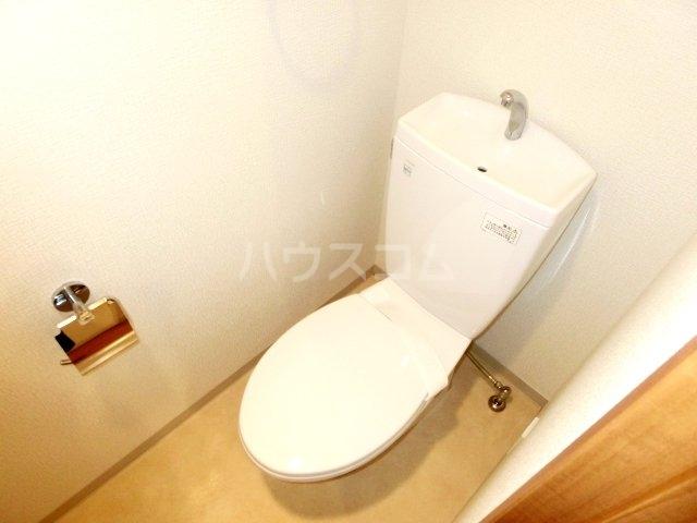 パテラ草加 207号室のトイレ