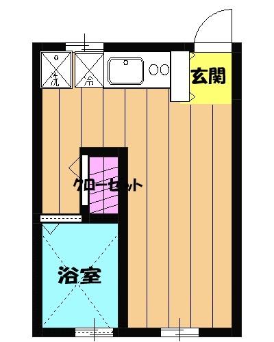 SEBOSEBO船橋A棟 A-102号室の間取り
