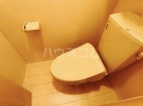 Droom-B 107号室のトイレ