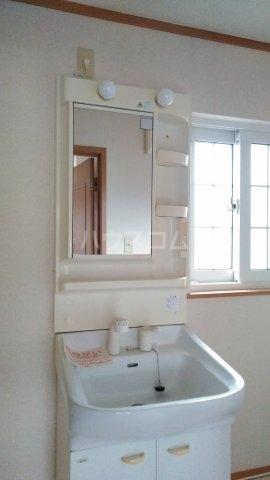 ライゼ・アルカンシエルC 02010号室の洗面所