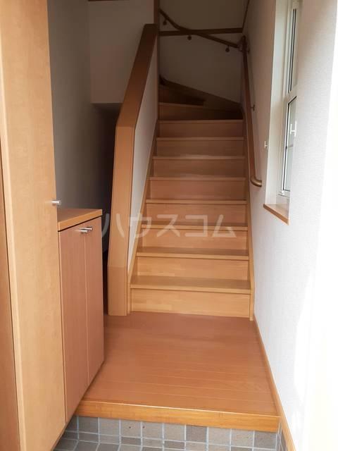 ライゼ・アルカンシエルC 02010号室の玄関