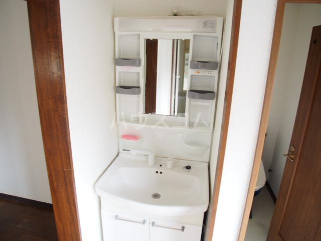 マルマツハイツ 201号室の洗面所