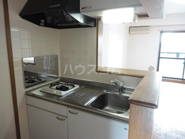 ANNEX 01050号室のキッチン
