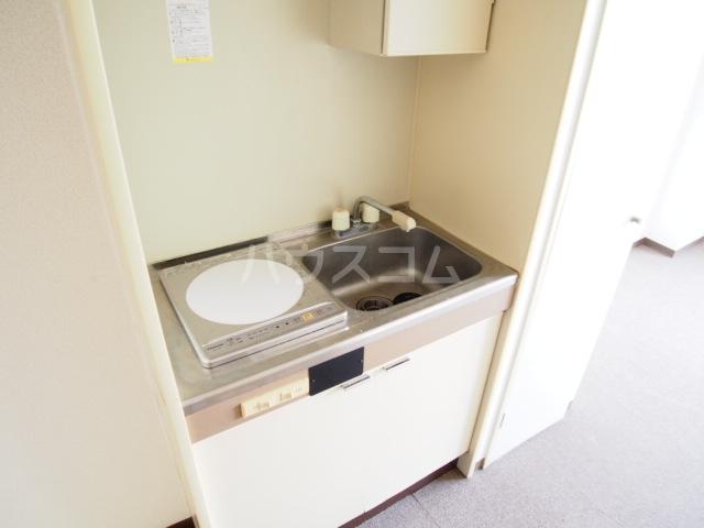 グローリア初穂草加 304号室のキッチン