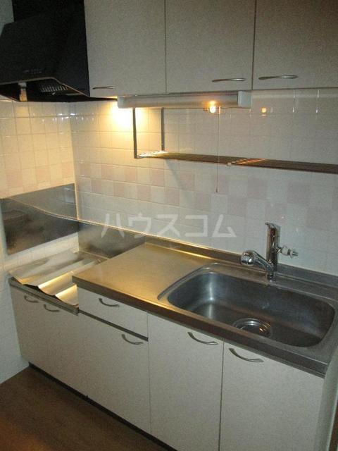 キングパレス Ⅱ 02010号室のキッチン
