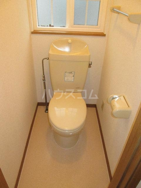 キングパレス Ⅱ 02010号室のトイレ