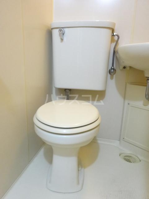ムラキビル 401号室のトイレ