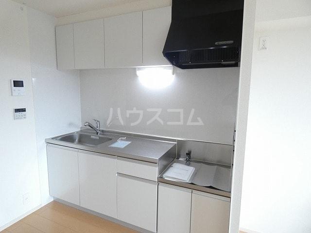取香牧B 02050号室のキッチン