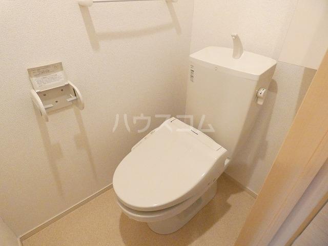 取香牧B 02050号室のトイレ