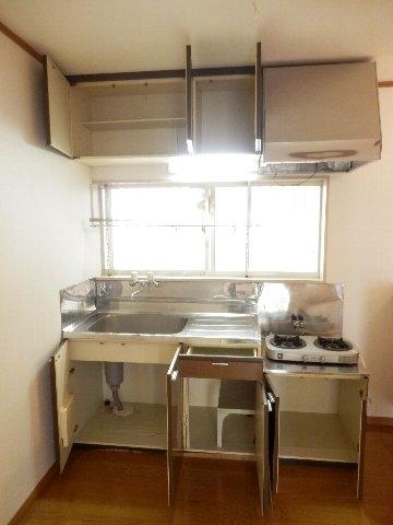 それいゆ夏見 103号室のキッチン