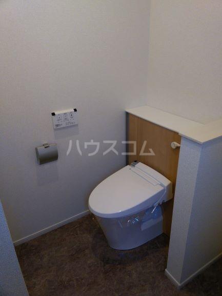 グレイス鶴里 02020号室のトイレ