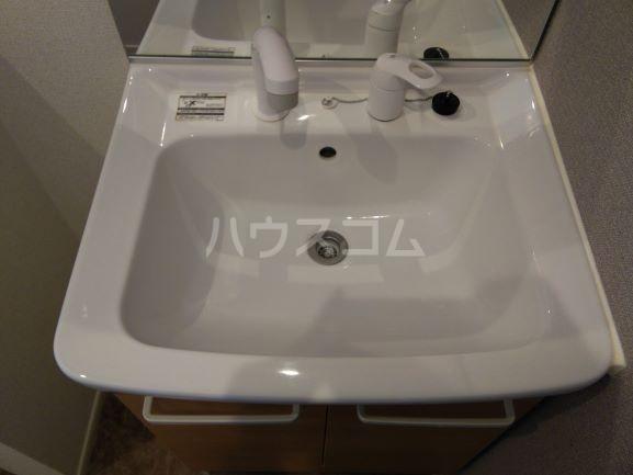 グレイス鶴里 02020号室の洗面所