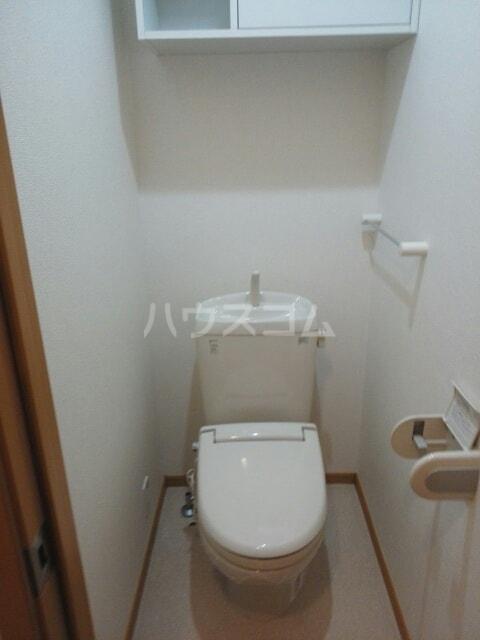 エレガンス柿畑 Ⅰ 01020号室のトイレ