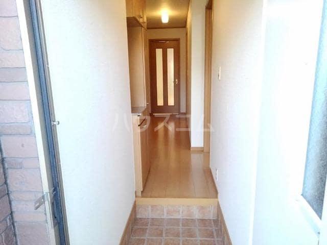 ソレイユⅢA 01020号室の玄関