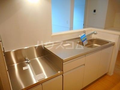 カサ カンパーナⅡ 01010号室のキッチン