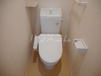 カサ カンパーナⅡ 01010号室のトイレ