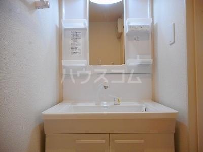 カサ カンパーナⅡ 01010号室の洗面所