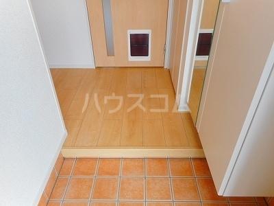 カサ カンパーナⅡ 01010号室の玄関