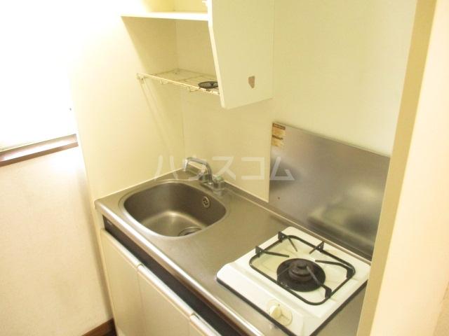 ドミールアイボリー 201号室のキッチン