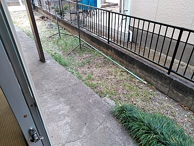 第一コ-ポ新河岸 101号室の庭