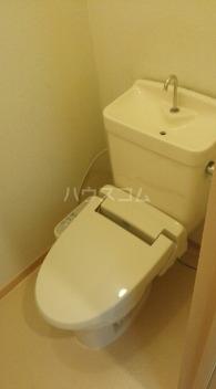 コーポ梨花 01040号室のトイレ