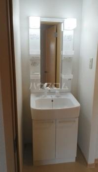 コーポ梨花 01040号室の洗面所